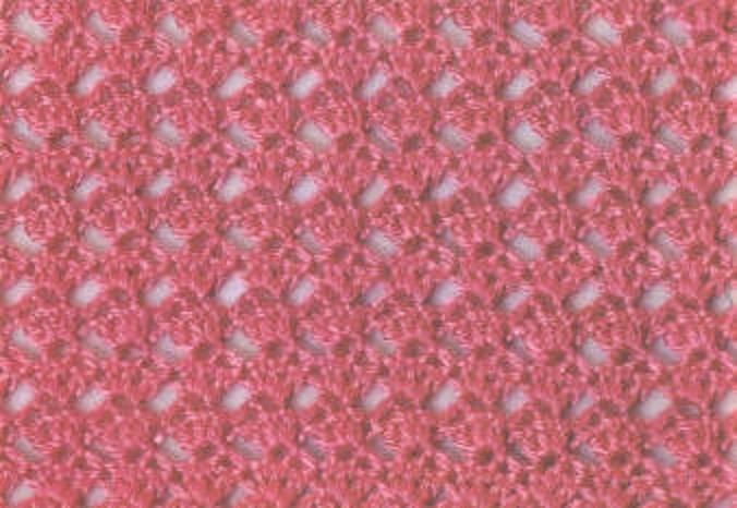 Muestras de puntos de ganchillo :: Patrones de puntos tejidos a crochet