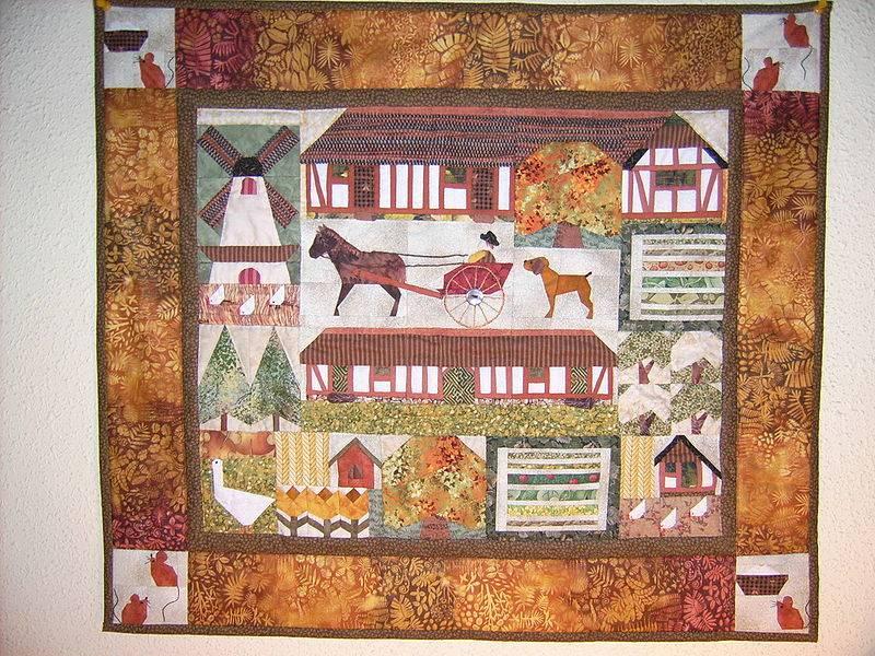 Patrones para hacer colchas patchwork infantiles c mo - Patrones colcha patchwork ...