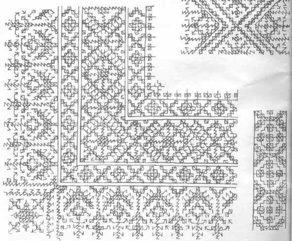 Dise os para bordar alfombras marroqu es alfombras en for Donde venden alfombras