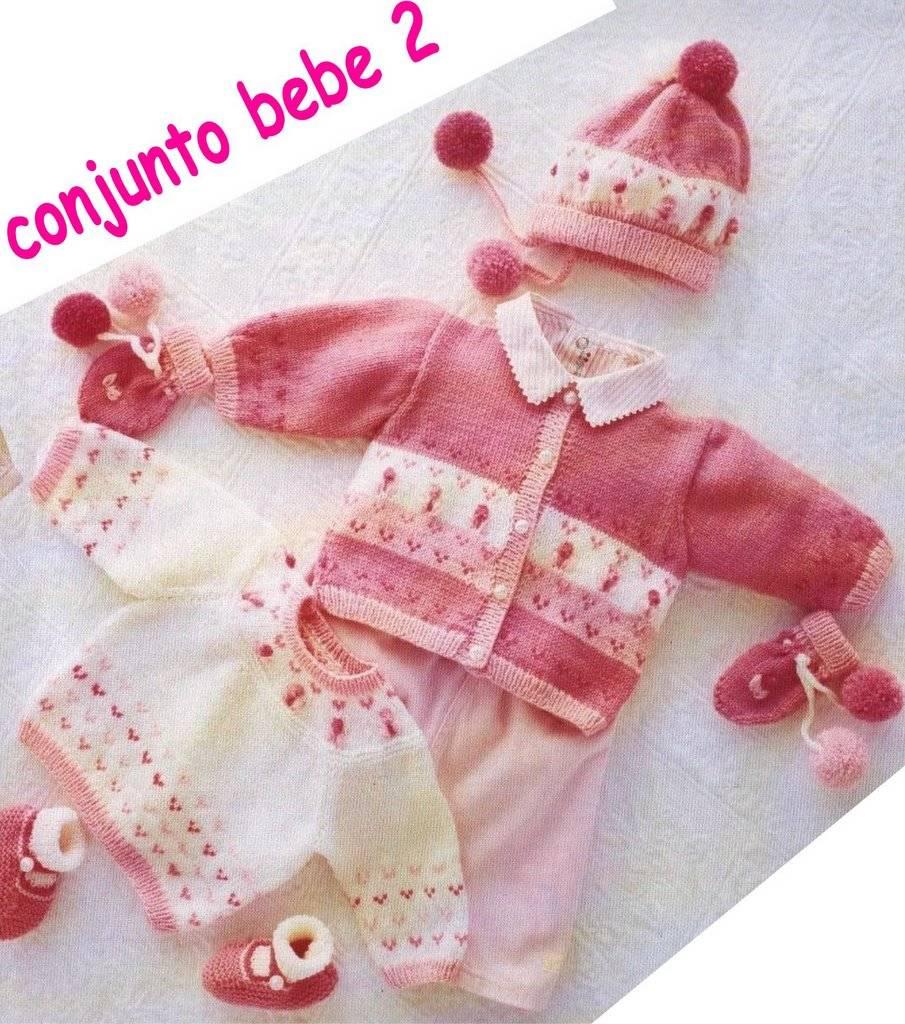 Patrones de chaqueta para bebés :: Cómo tejer una chaqueta de punto ...