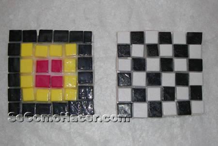 cómo hacer un posavasos con mosaico de goma eva posavasos con