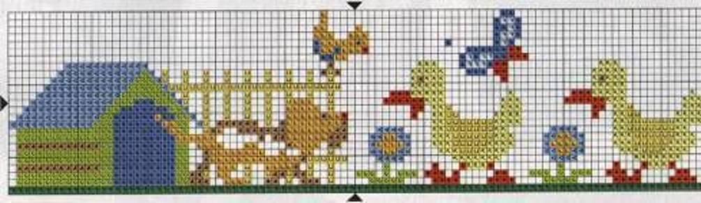Dibujos para bordados infantiles en punto de cruz bordado en punto cruz infantil bordado a - Videos de punto de cruz ...