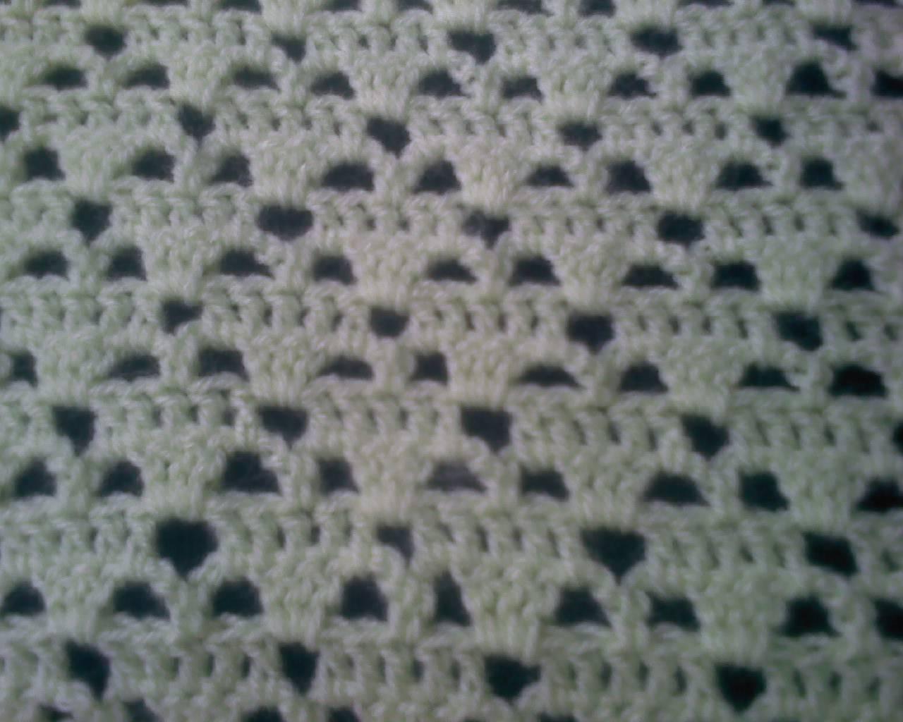 Mantas de crochet a cuadros y otras colchas tejidas con ganchillo ...
