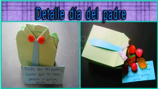 4 manualidades para el regalo del dia del padre que - Que regalar a un padre ...