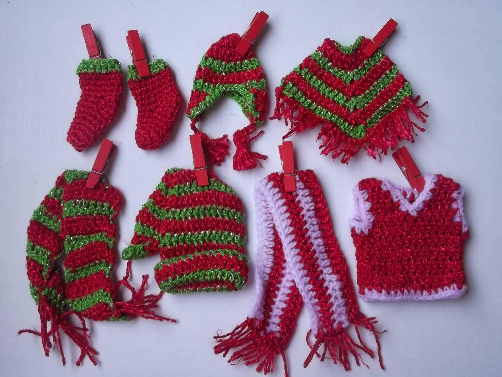 Adornos navide os tejidos a crochet paso a paso - Como realizar adornos navidenos ...