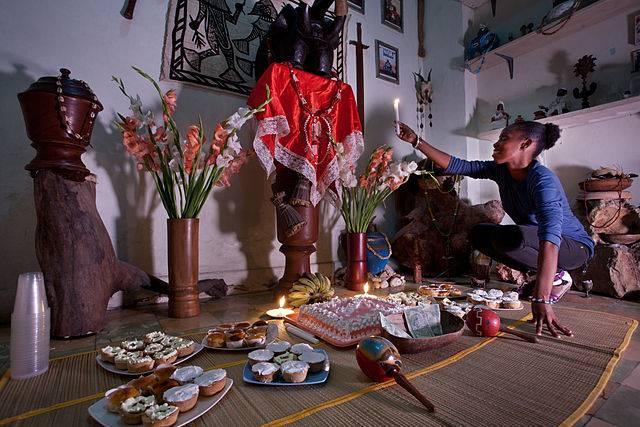 Resultado de imagen para santeria cubana rituales
