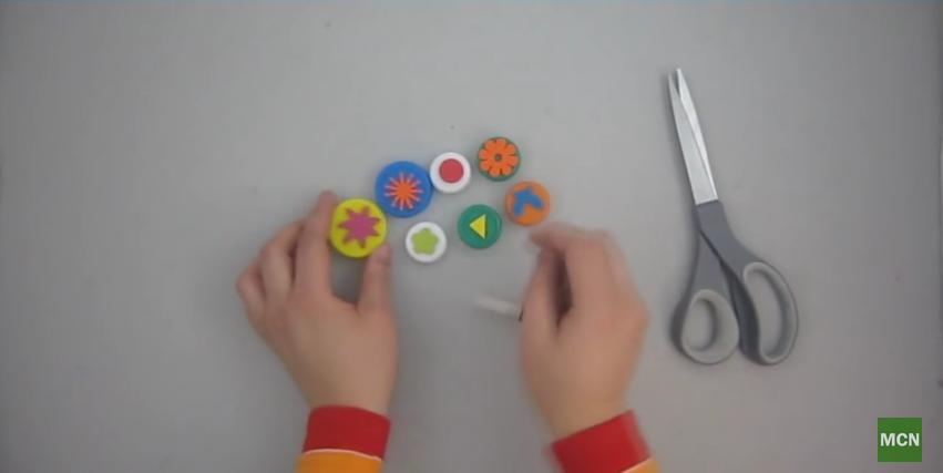 Cómo hacer sellos caseros de goma eva o foami paso a paso ...