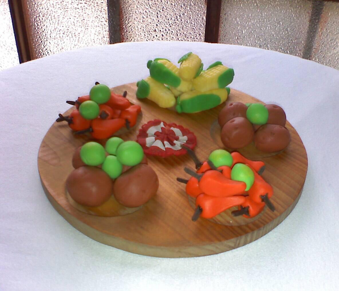 C mo hacer un souvenir f cil de porcelana fr a una for Verduras francesas