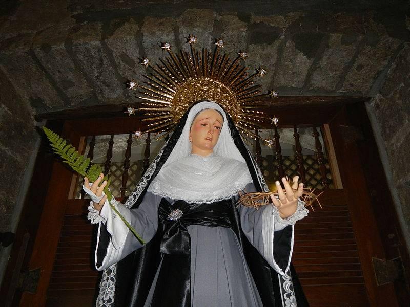 Novena y oraci n a la virgen desatanudos para los - Como quitar la mala suerte de mi casa ...