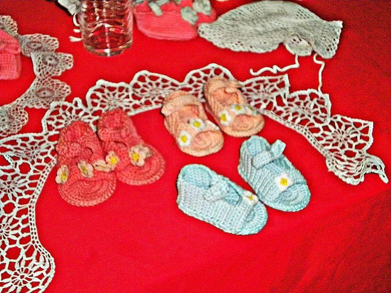 Zapatitos a crochet paso a paso - Labores de crochet para bebes ...